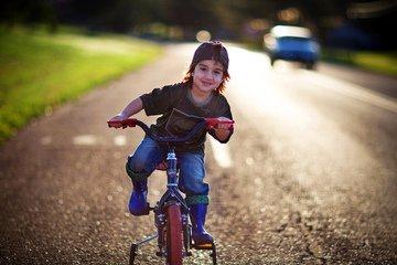 Už ti nejmenší děti si mohou užít radost z jízdy