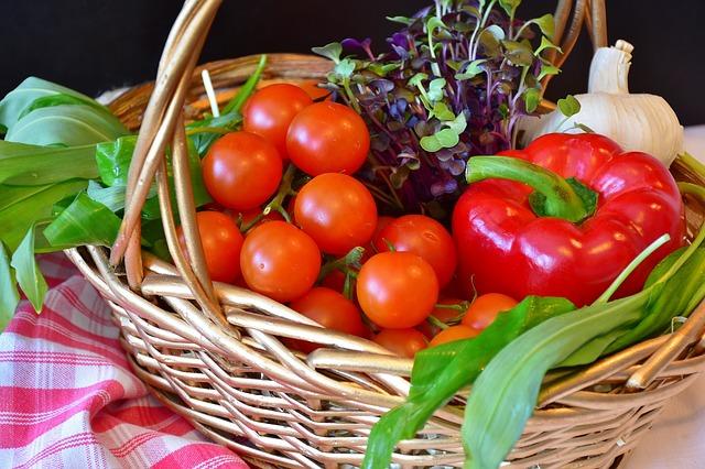 Mini zelenina z minizahrádky