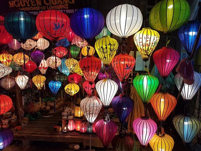 vietnamský noční trh