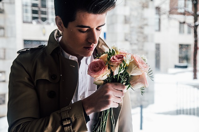 romantický mladík