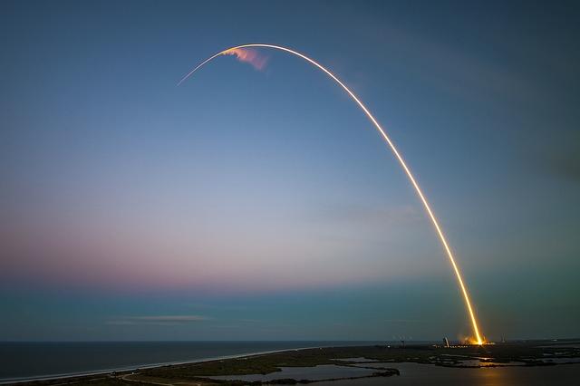 Raketa po startu