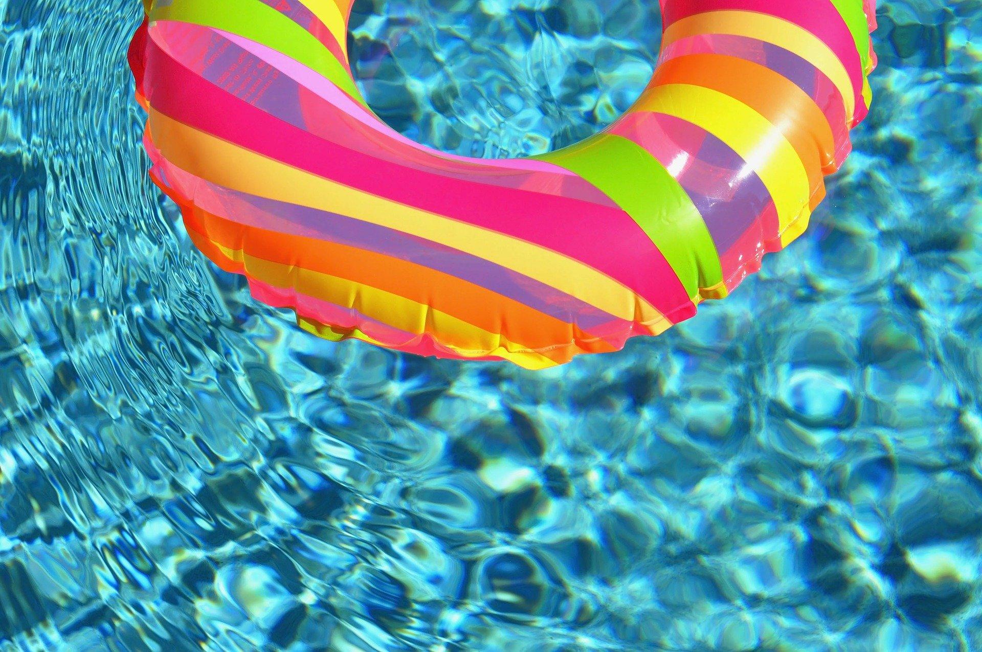 Plovák na tablety do bazénu